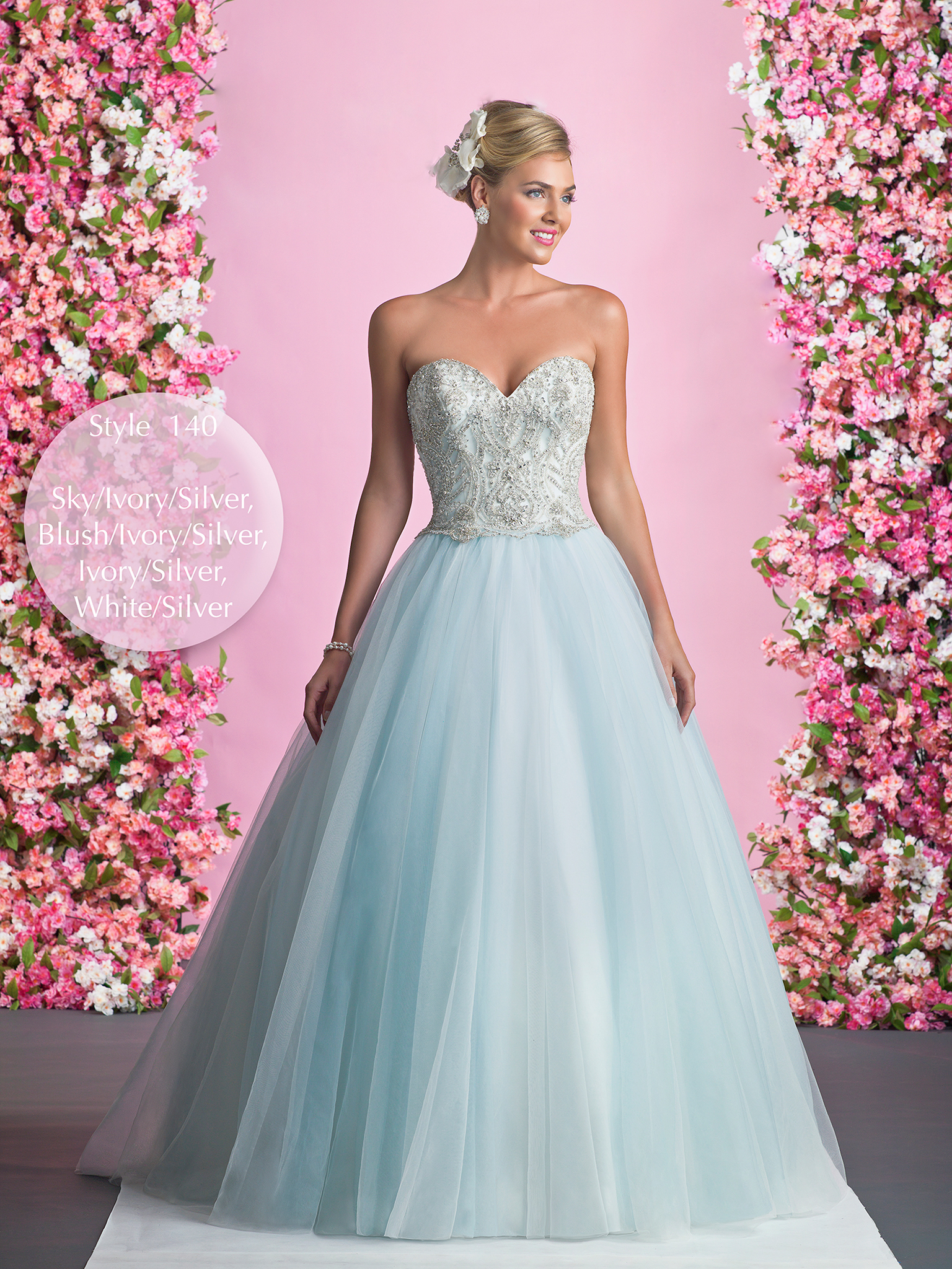 Winter wonderland wedding dress – Alexia Designs UK