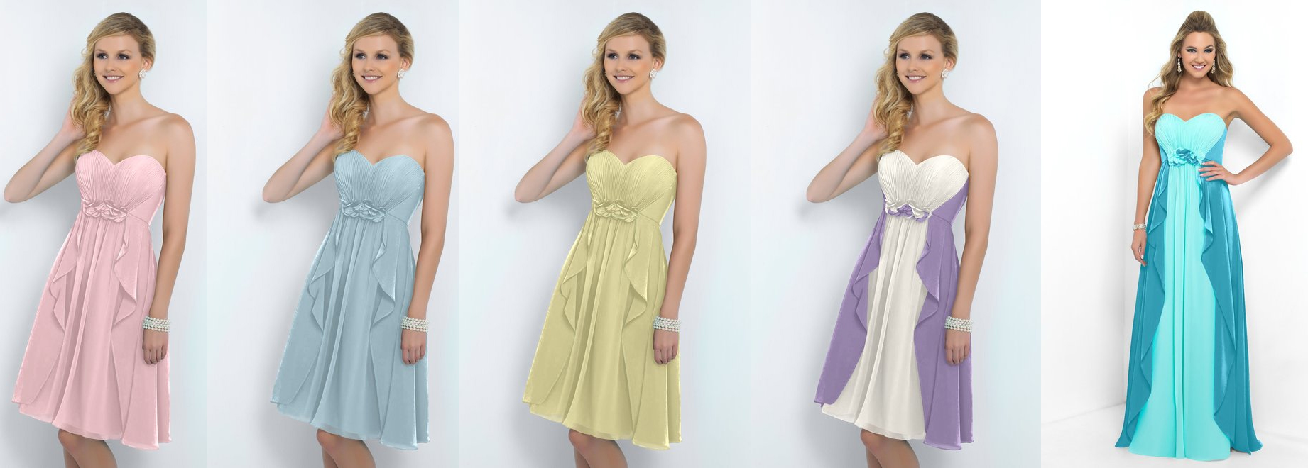 Four bridesmaid dress trends for 2015 alexia designs uk mismatch bridesmaid trend ombrellifo Choice Image
